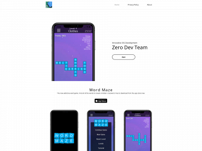 zerodevteam.co.uk snapshot